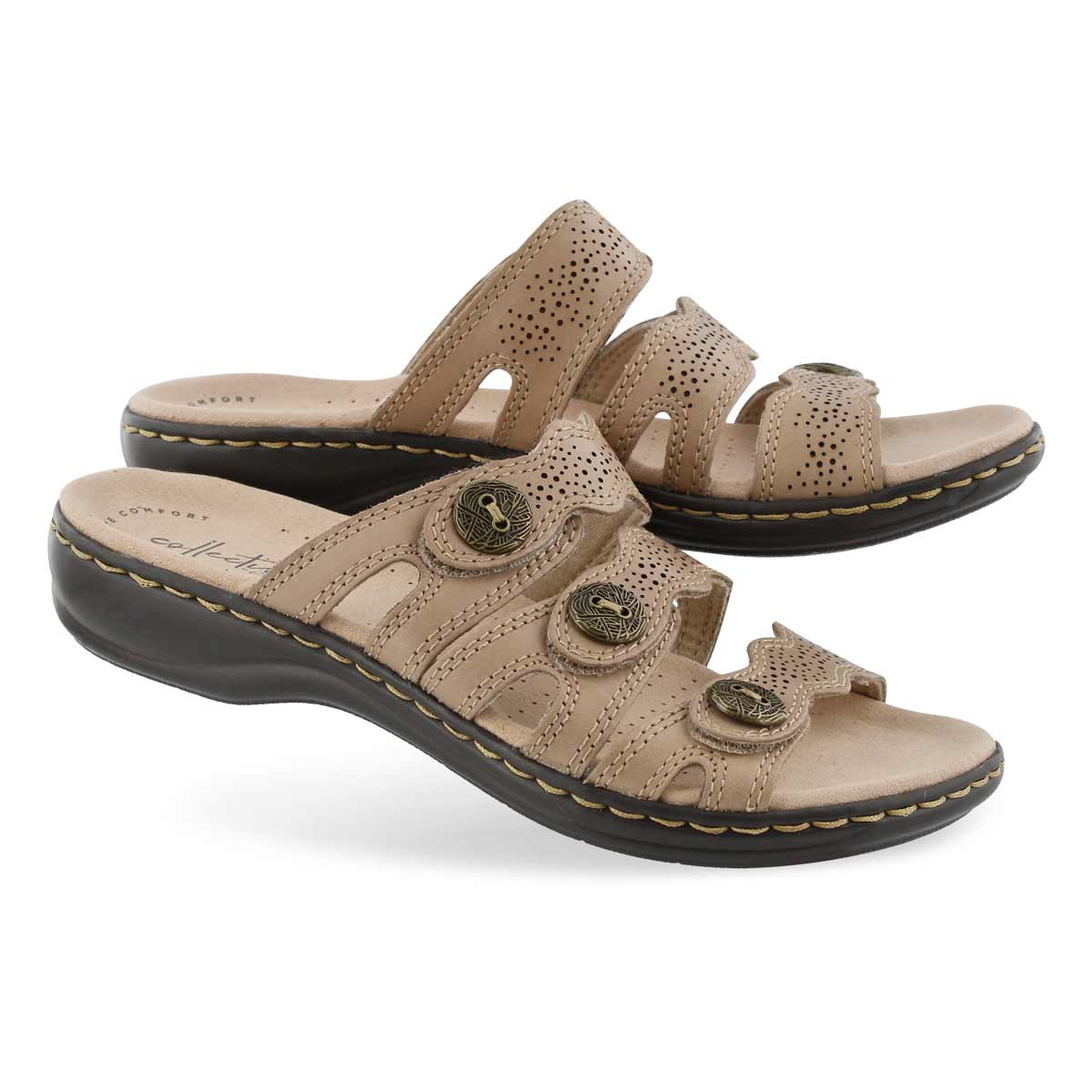 Sandale déc. Leisa Grace, sable, fem.