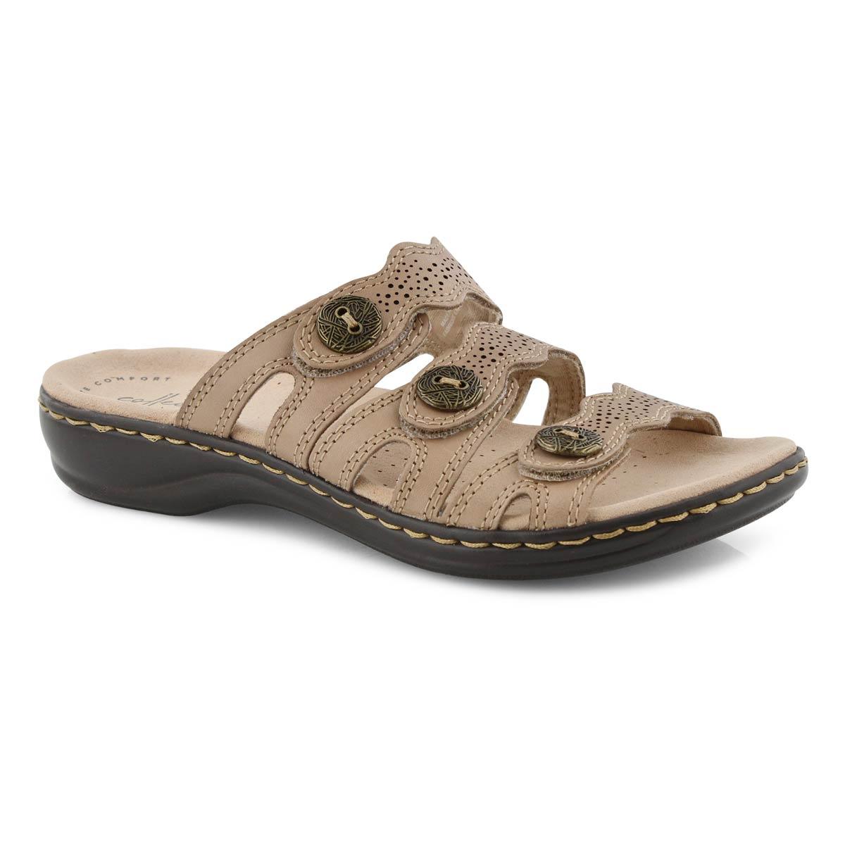 Lds Leisa Grace sand casual slide sandal