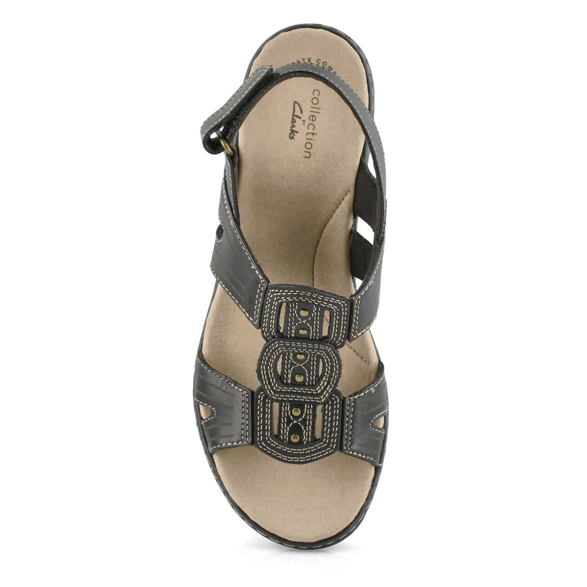 Lds Leisa Vine black casual sandal