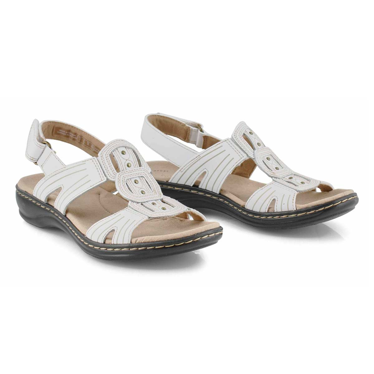 Lds Leisa Vine white casual sandal
