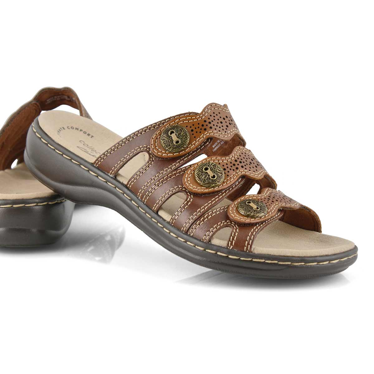 Sandale déc. Leisa Grace, brun, fem