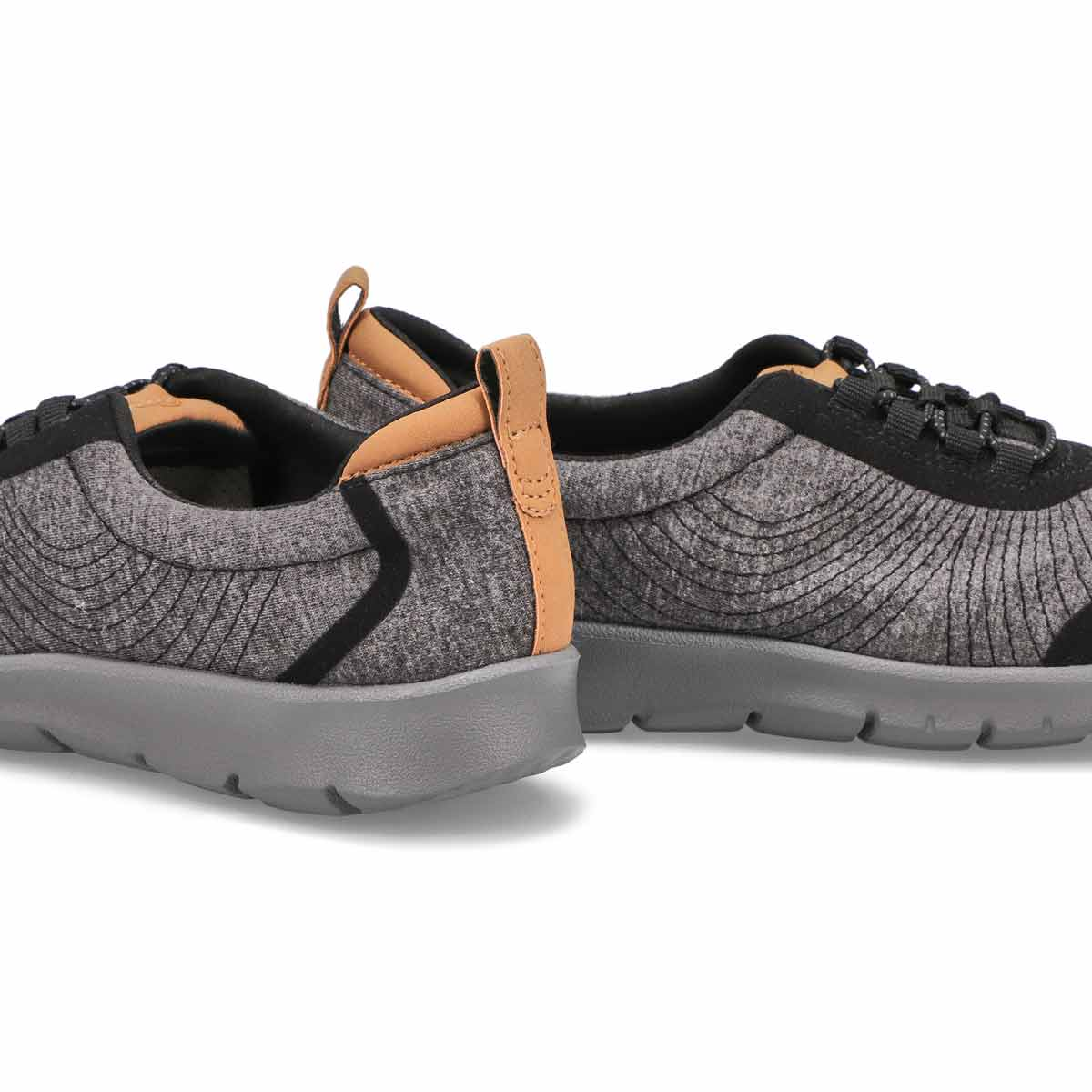 Lds Step Allena Bay blk casual shoe