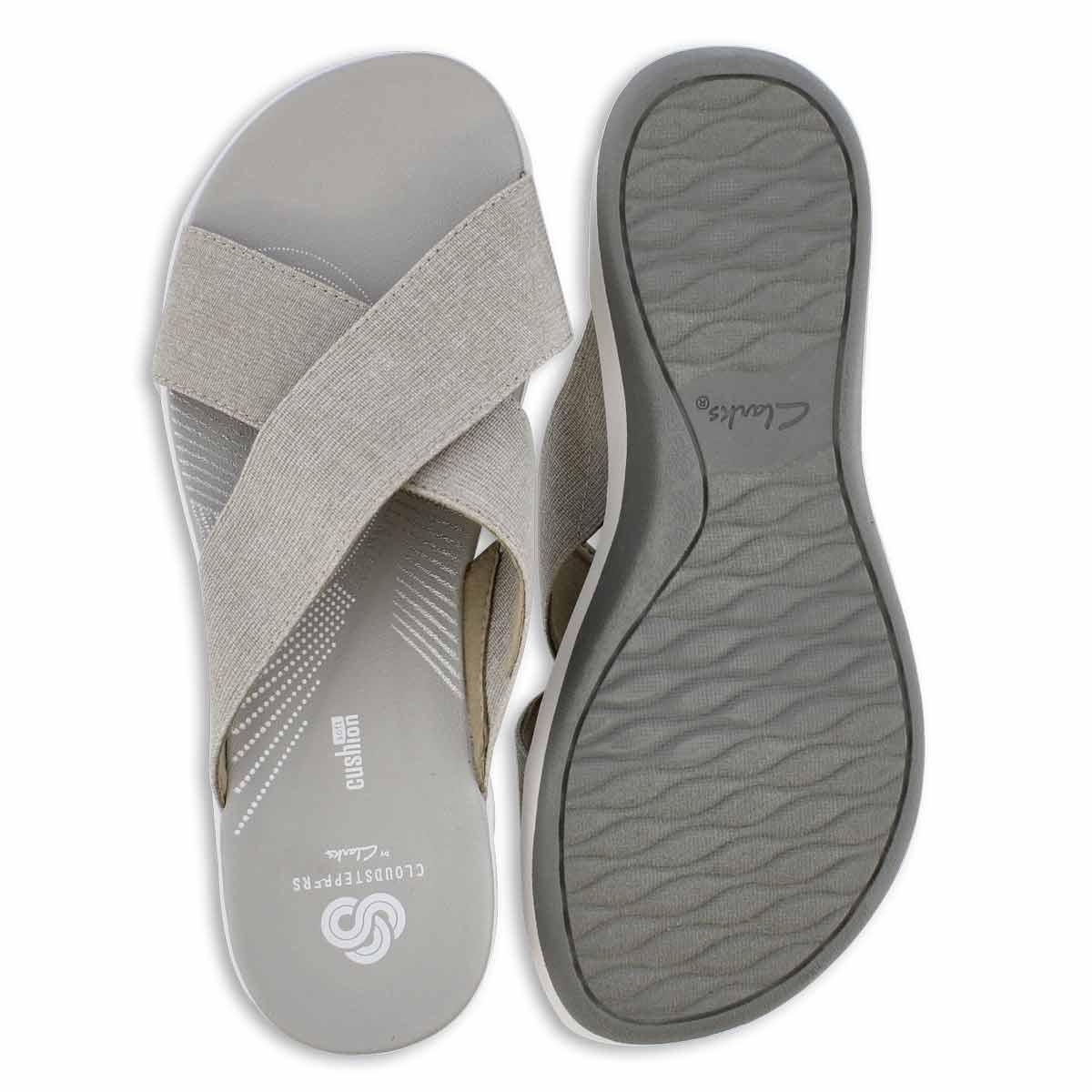 Lds Arla Elin sand wedge slide sandal