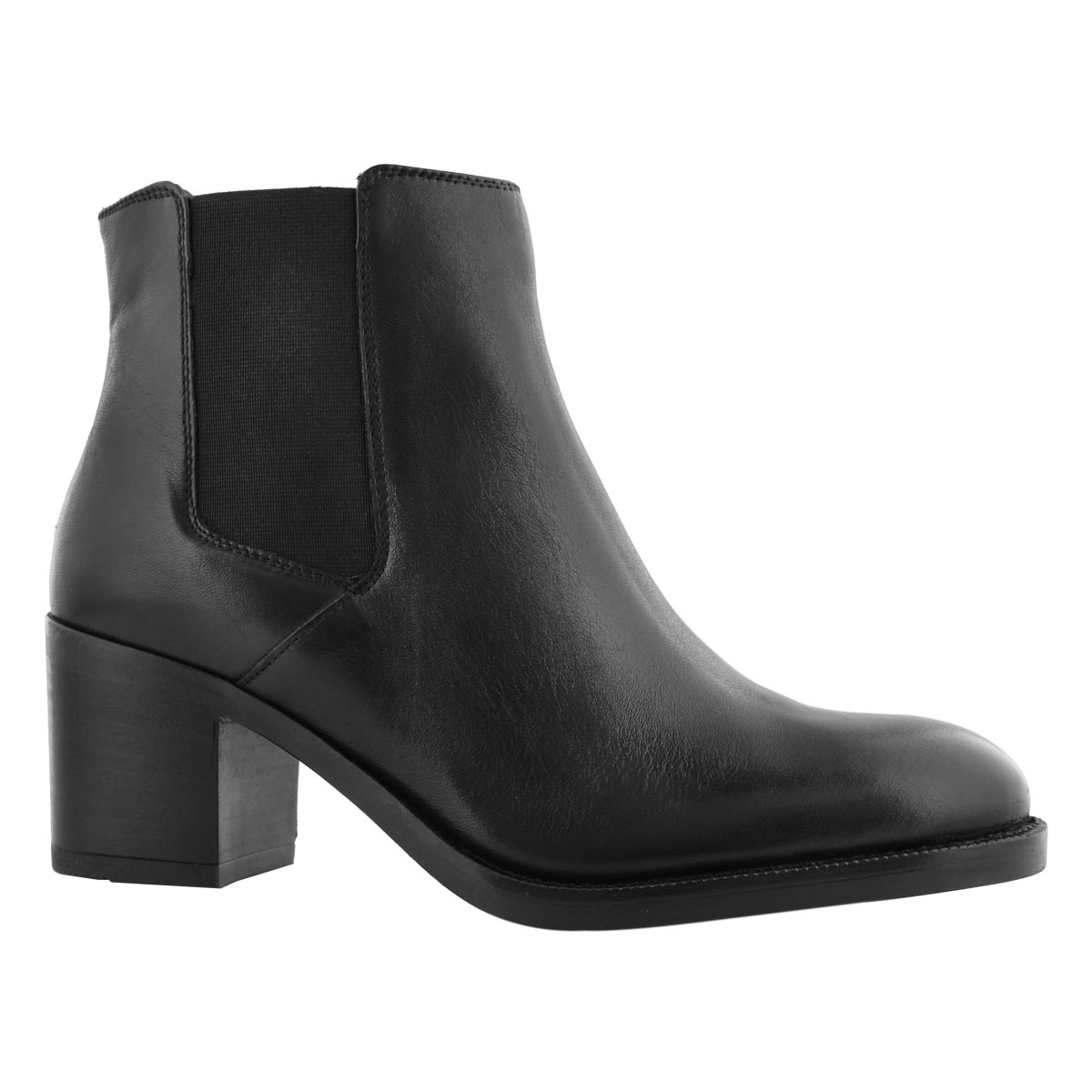 Lds Mascarpone Bay blk dress ankle boot