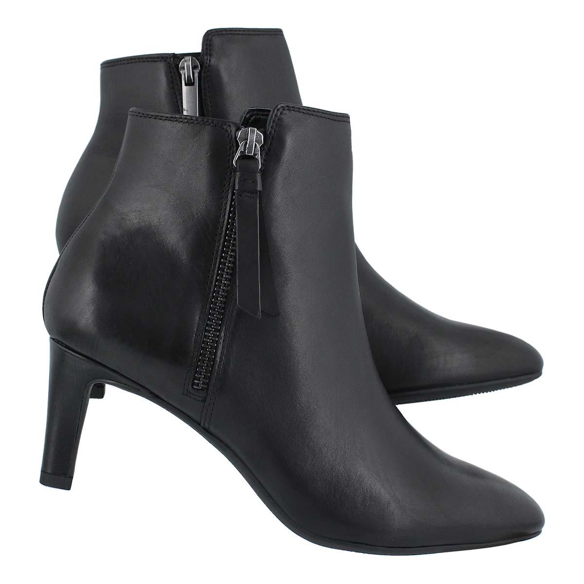 Lds Calla Blossom black dress bootie
