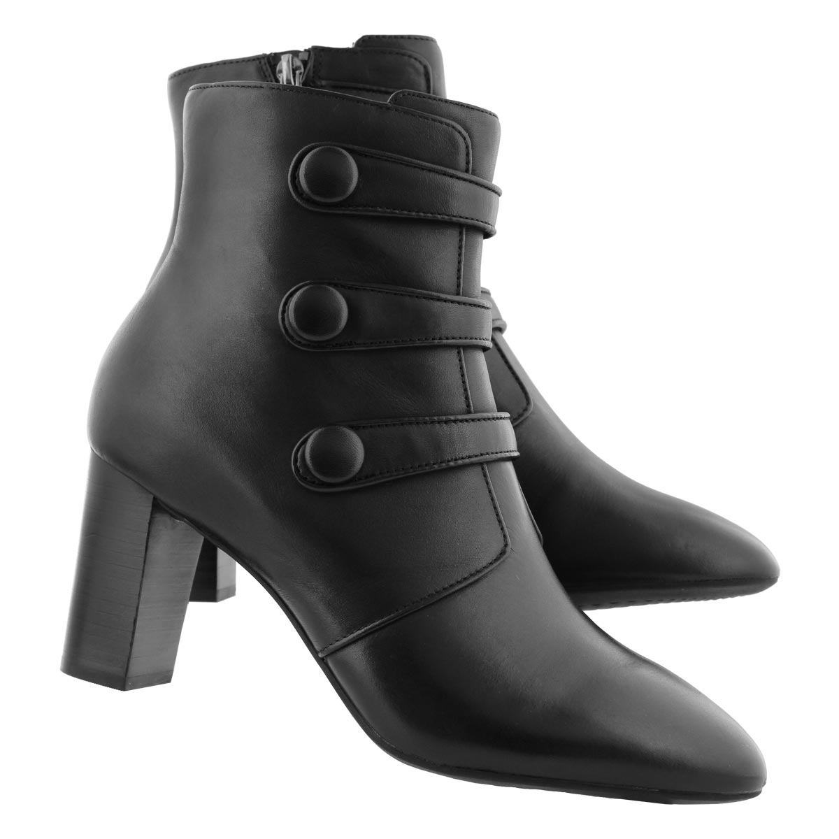 Lds Chryssa Ella black dress ankle boot
