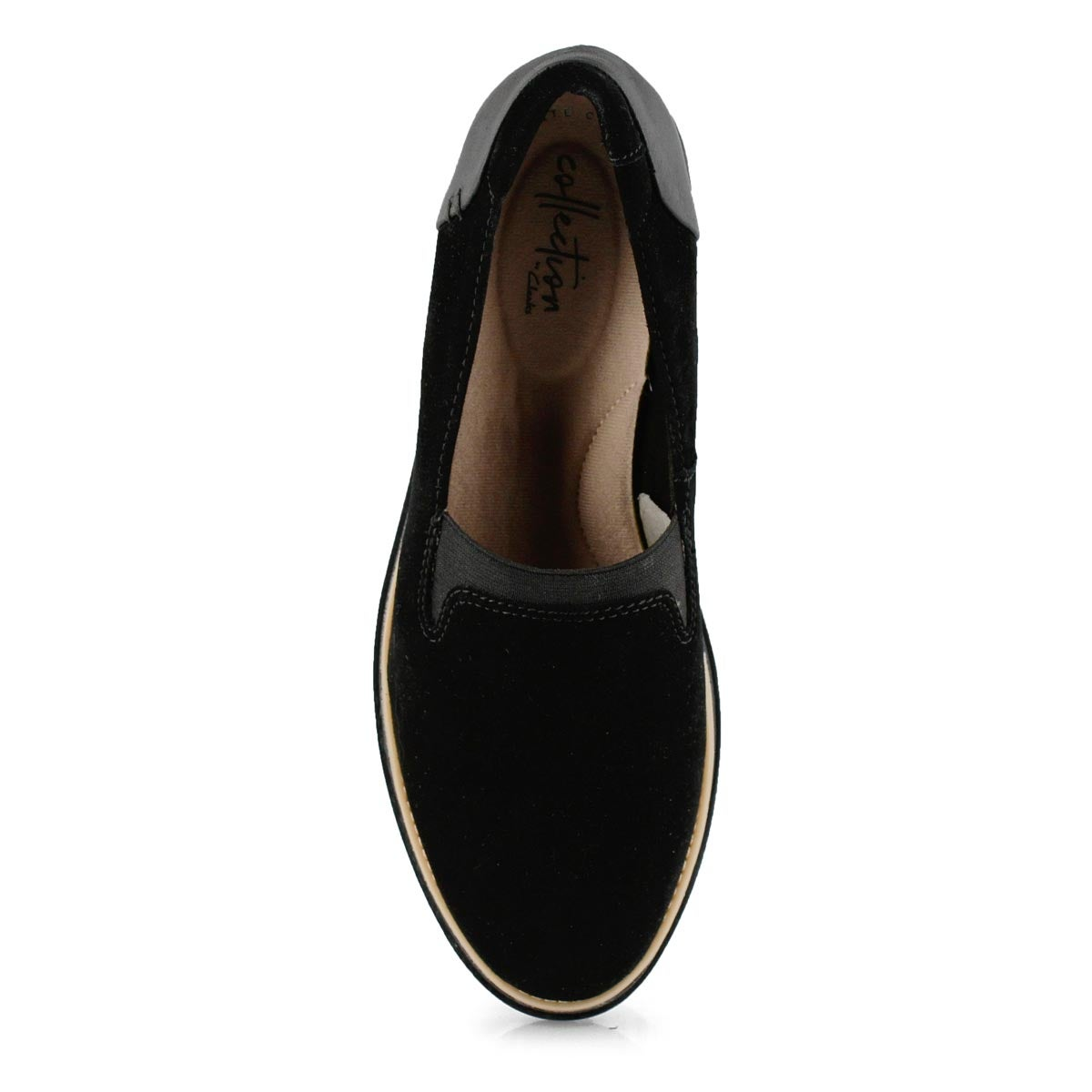 Lds Sharon Dolly black sde casual loafer