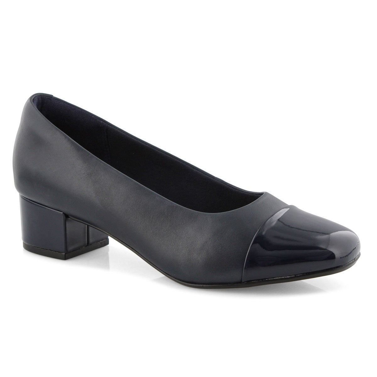 Lds Chartli Diva navy dress heel - WIDE