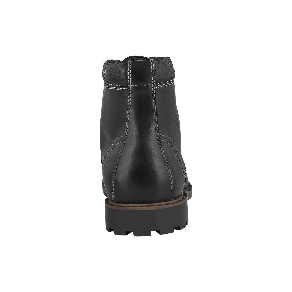 Mns Curington High black laceup ank boot