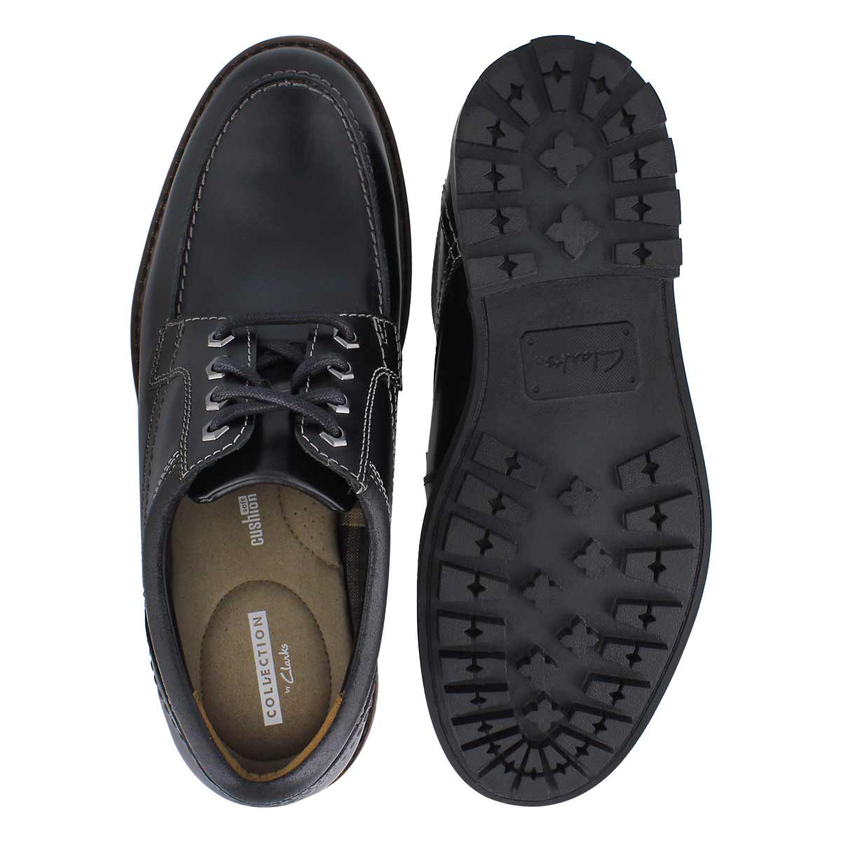 Mns Curington Walk black casual oxford