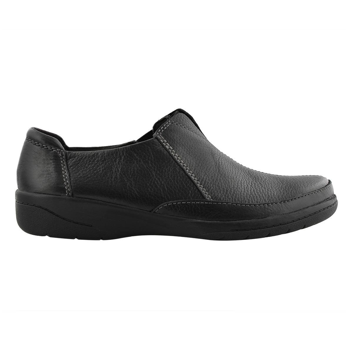 Lds Cheyn Bow black casual slip on