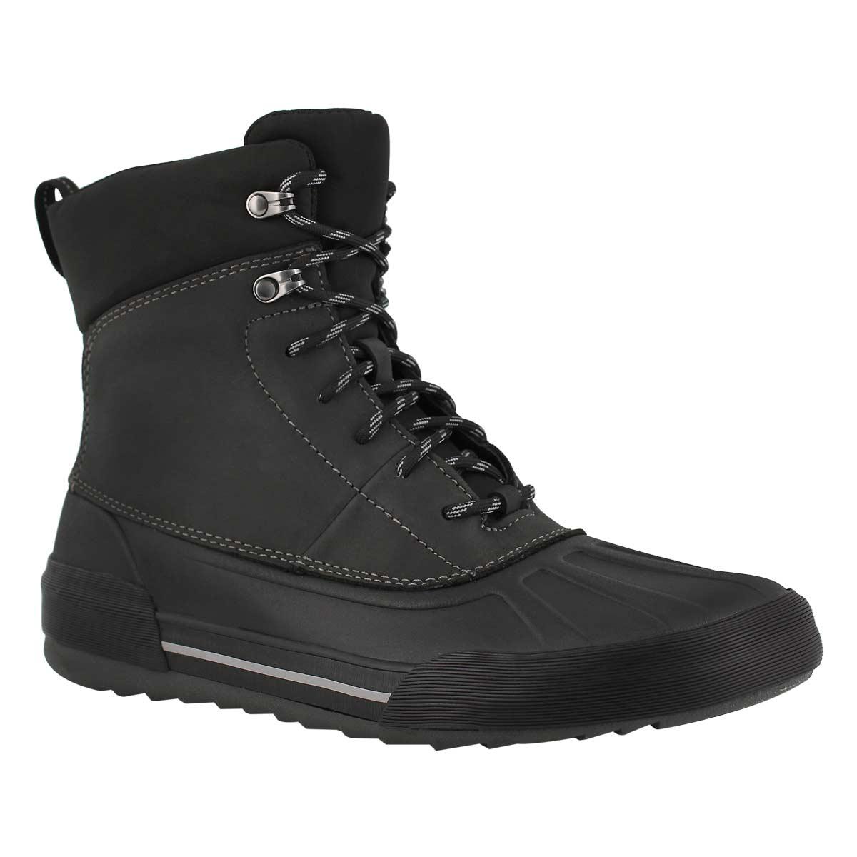 Mns Bowman Peak blk wtpf ankle boot