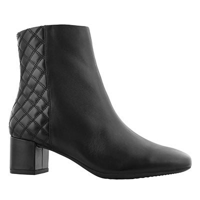 Lds Tealia Luck black dress ankle boot