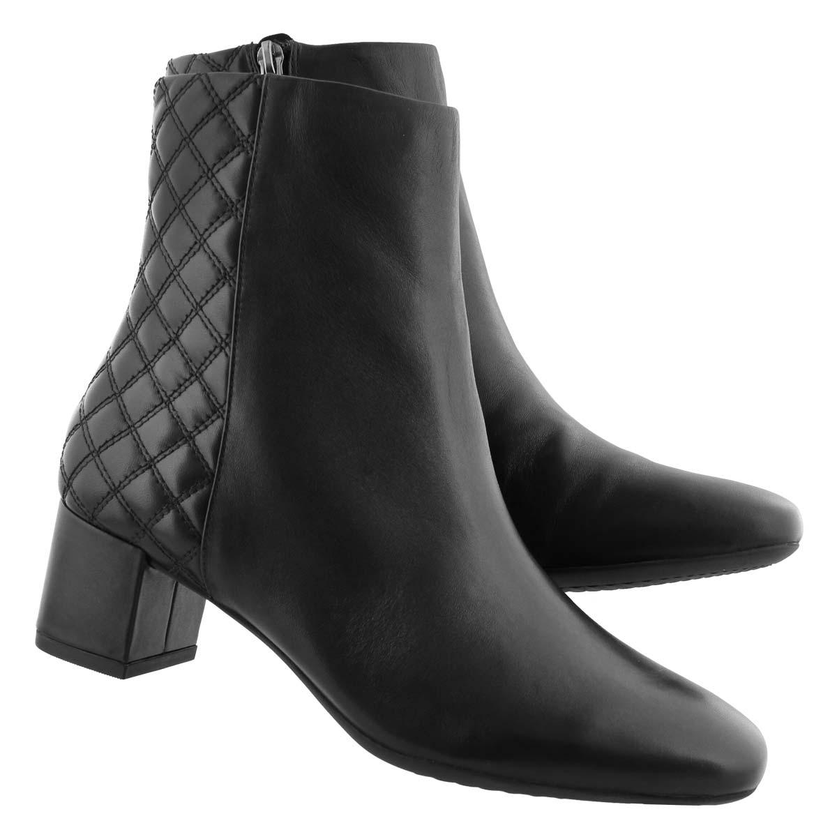 Lds Tealia Luck black dress ankle boot
