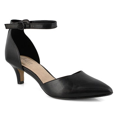 Lds Linvale Edyth black dress heel