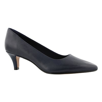 Lds Linvale Jerica navy dress heel