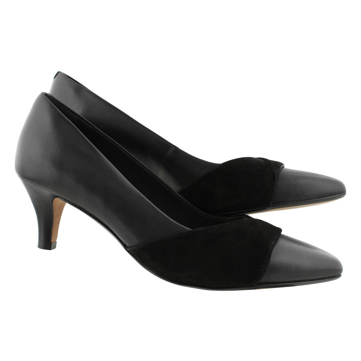 Lds Linvale Vena black dress heel