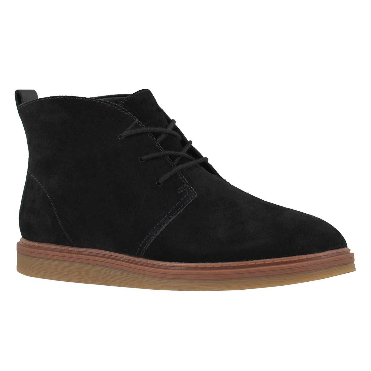 Lds Dove Roxana black casual chukka boot