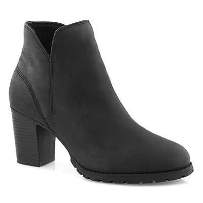 Lds Verona Trish black ankle boot