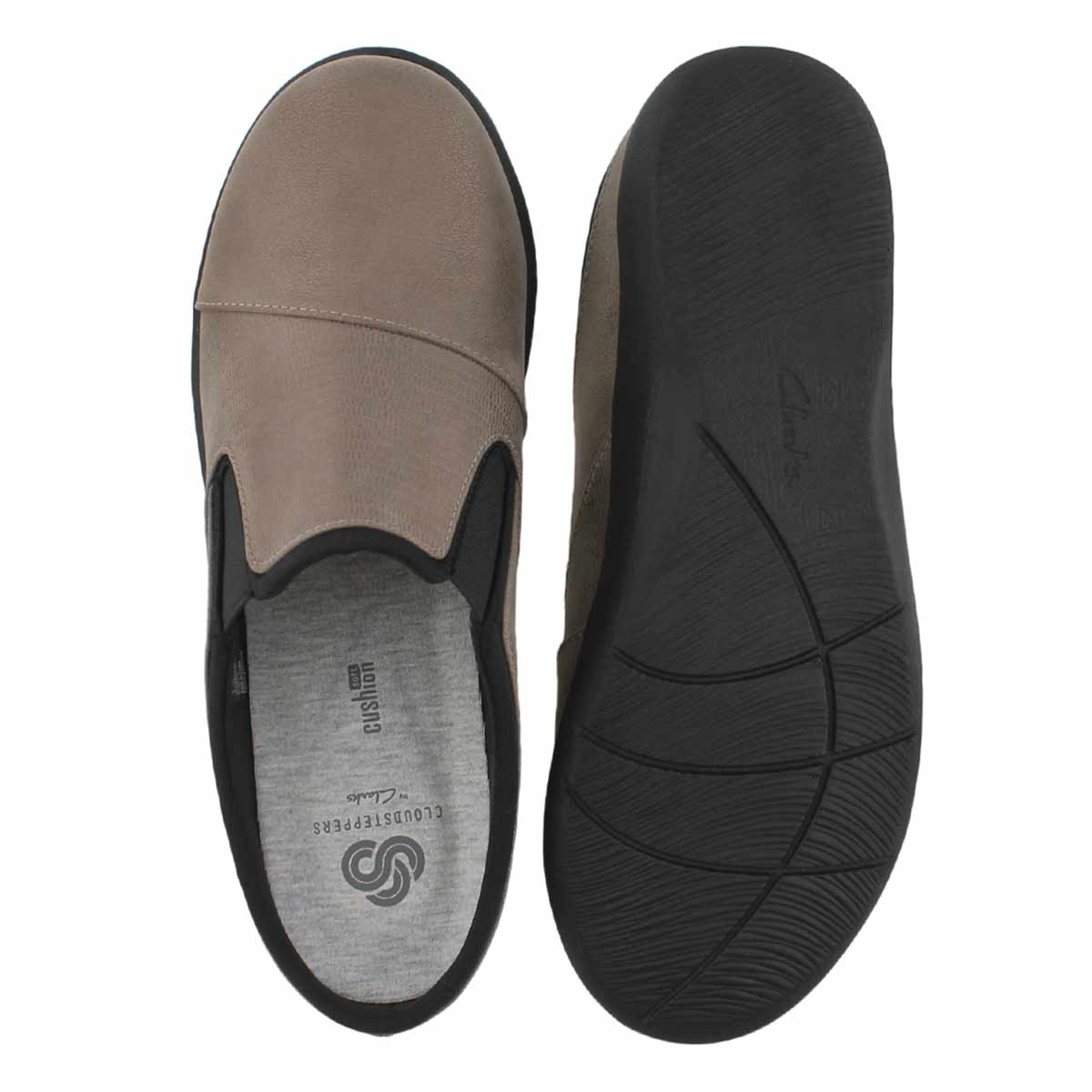 Lds Sillian Free pewter casual slip on