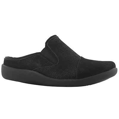 Lds Sillian Free black casual slip on