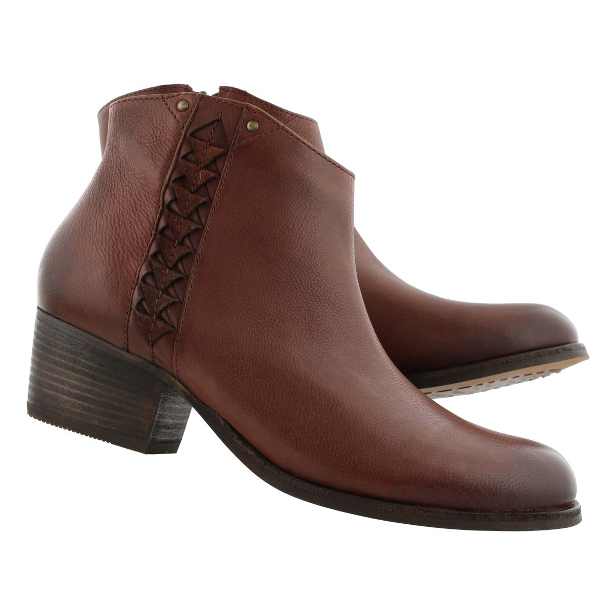 Lds Maypearl Fawn mgny slipon ankle boot