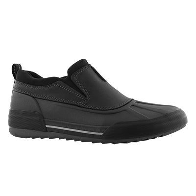Mns Bowman Free blk wtpf leather muckers