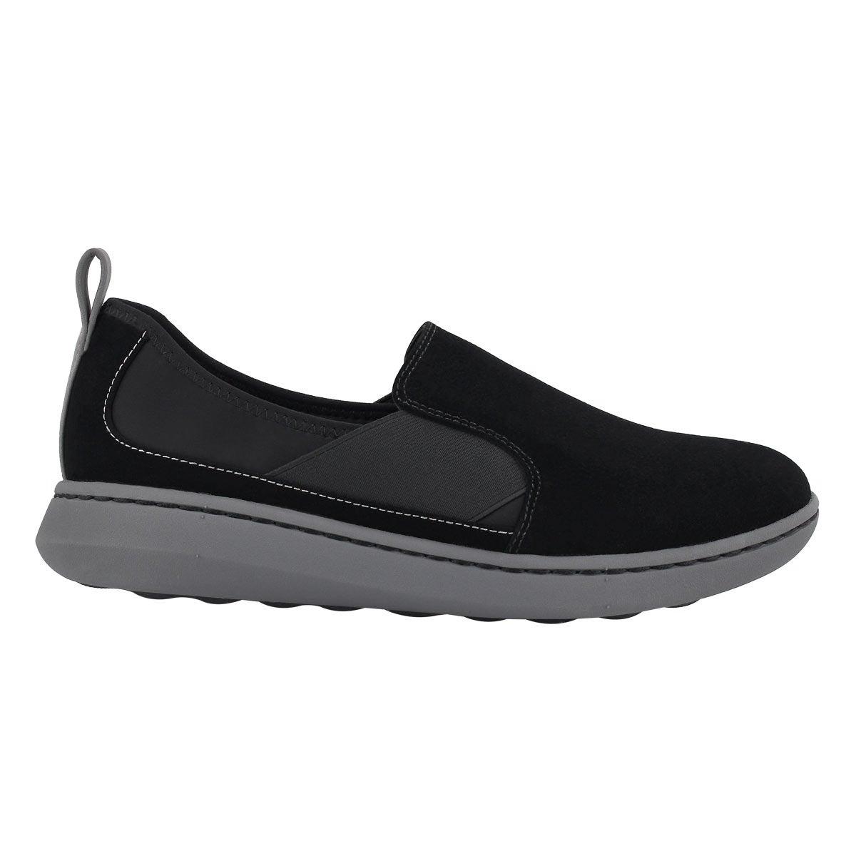 Lds Step Move Jump black slip on shoe