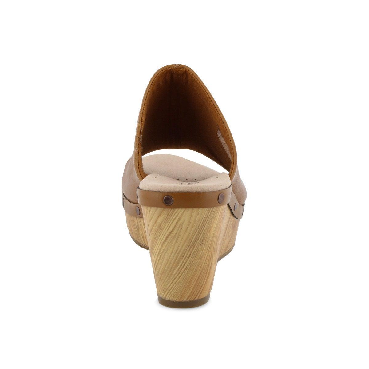 Lds Annadel Molly tan wedge sandal