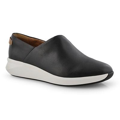 Lds Un Rio Rise black casual shoe