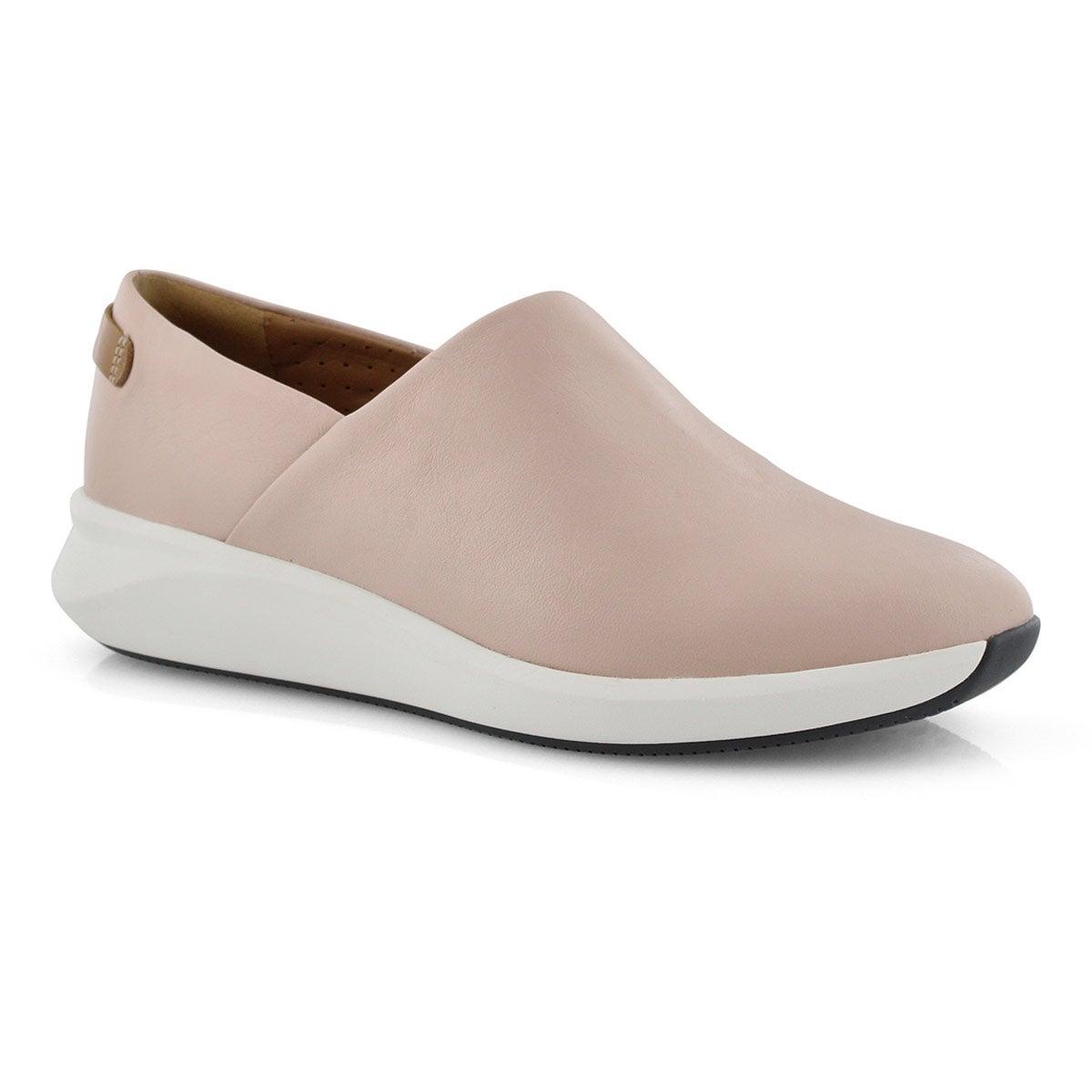 Lds Un Rio Rise blush casual shoe