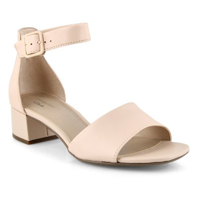 Lds Elisa Dedra blush dress sandal