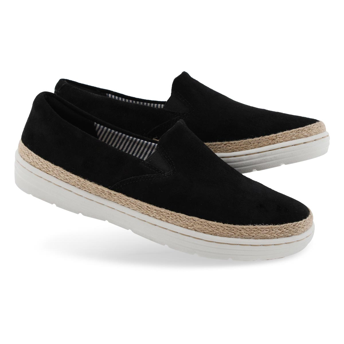 Lds Marie Pearl black casual shoe