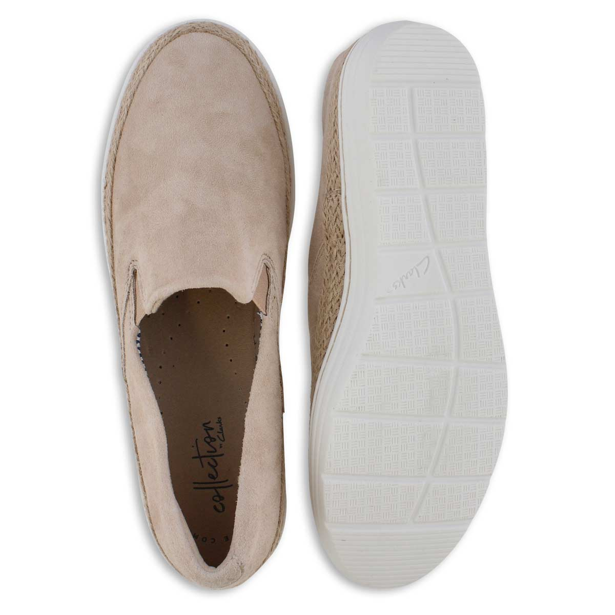 Lds Marie Pearl nude casual shoe