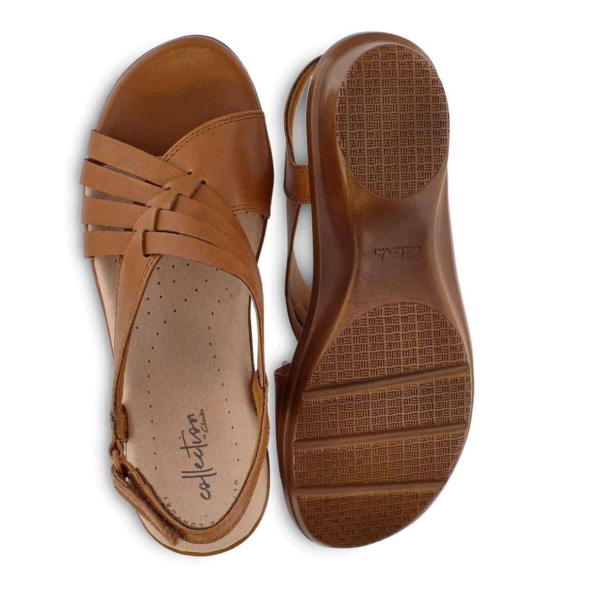 Lds Loomis Cassey tan casual sandal
