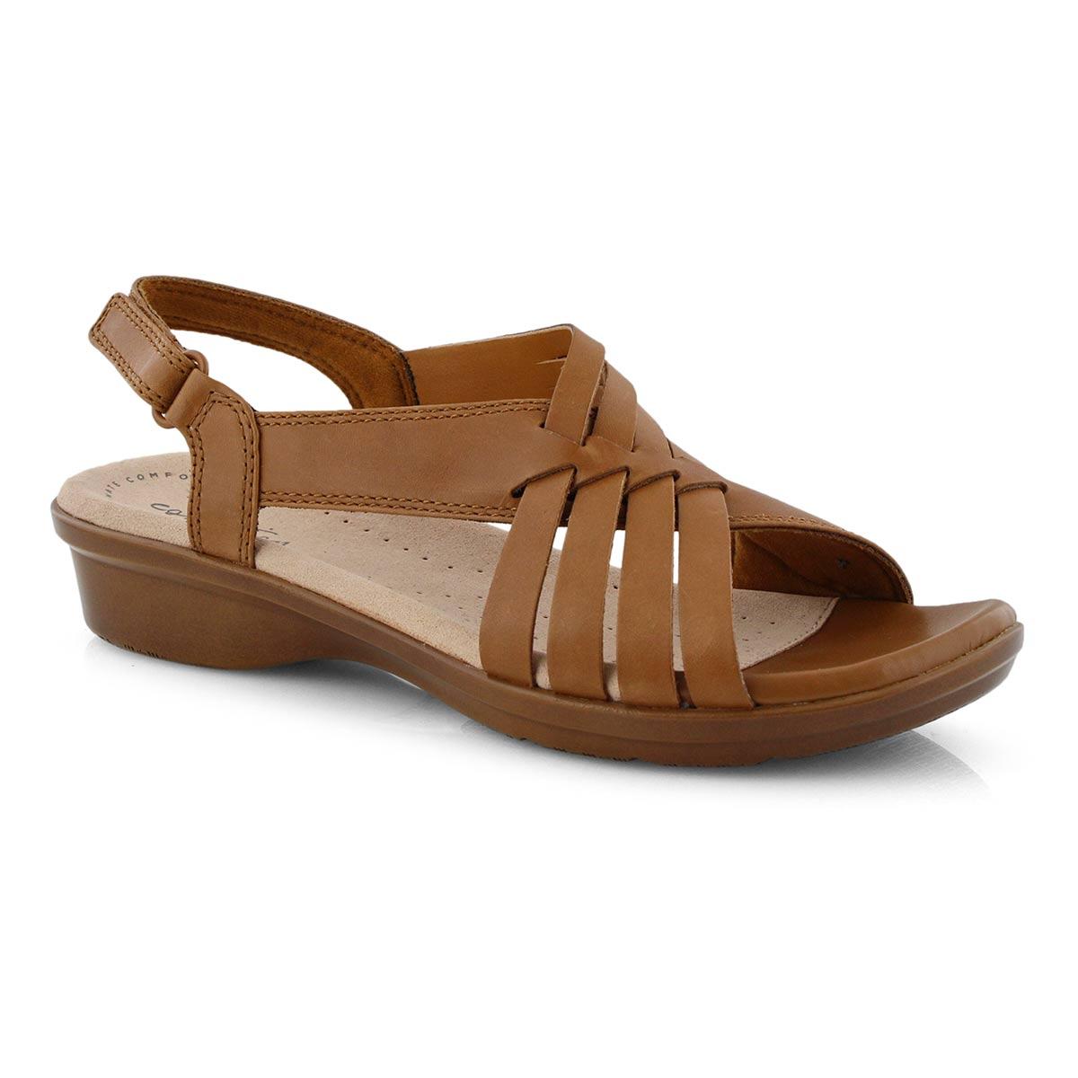 Lds Loomis Cassey tan casual sandal