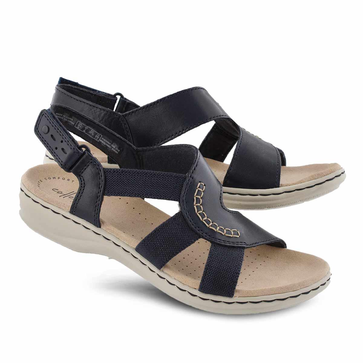 Lds Leisa Joy navy casual sandal