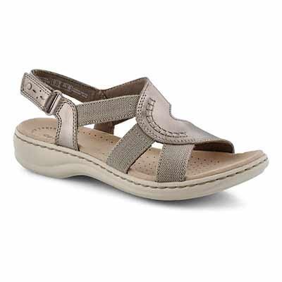 Lds Leisa Joy pewter casual sandal