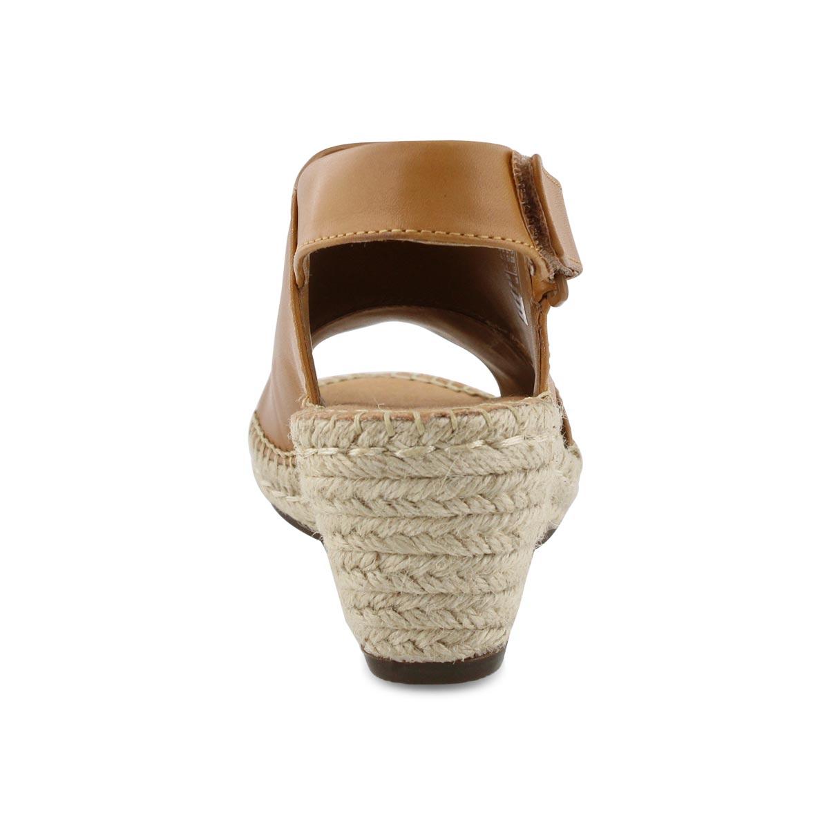 dd8c52bea05 Women's PETRINA ABBY light tan wedge sandals