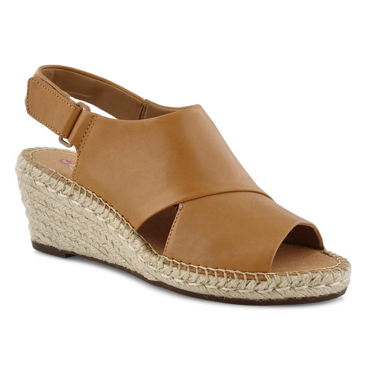 13729e39239 Women's PETRINA ABBY light tan wedge sandals