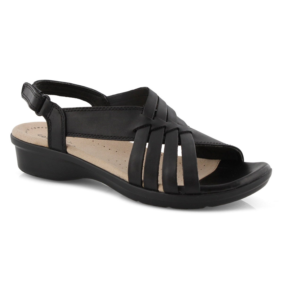 Lds Loomis Cassey black casual sandal