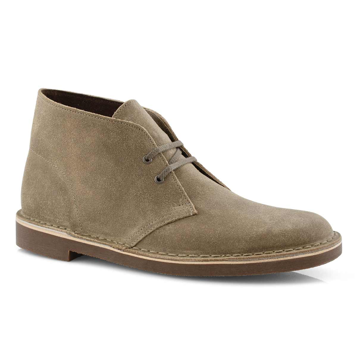 590cb0ee0af Men's BUSHACRE 2 taupe suede desert boots