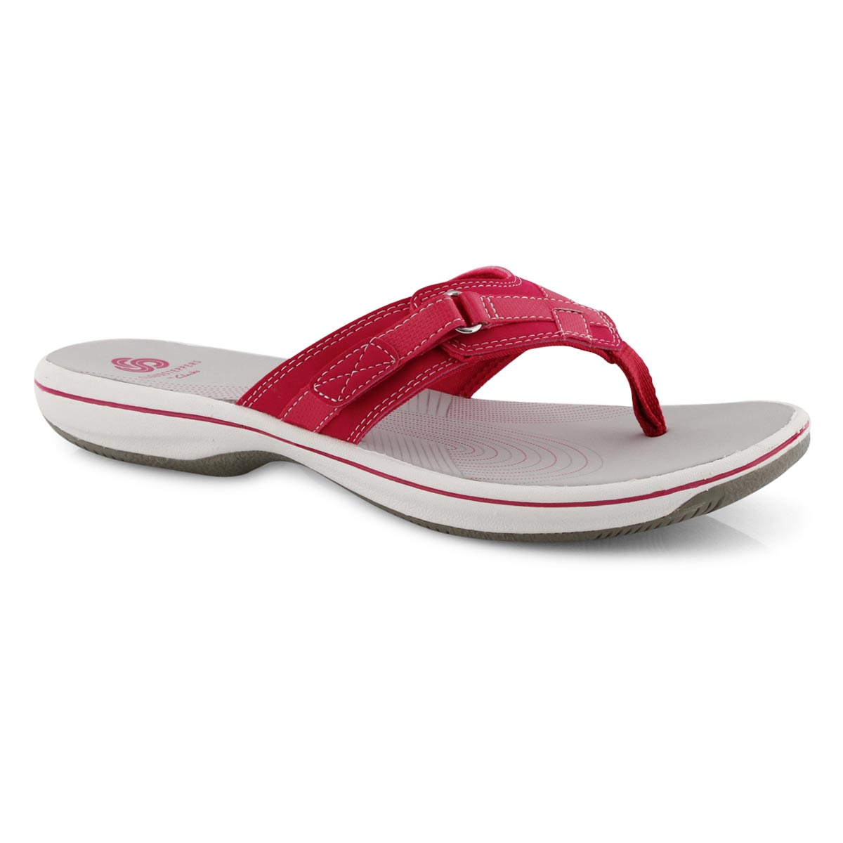 Lds Breeze Sea bright rose thong sandal