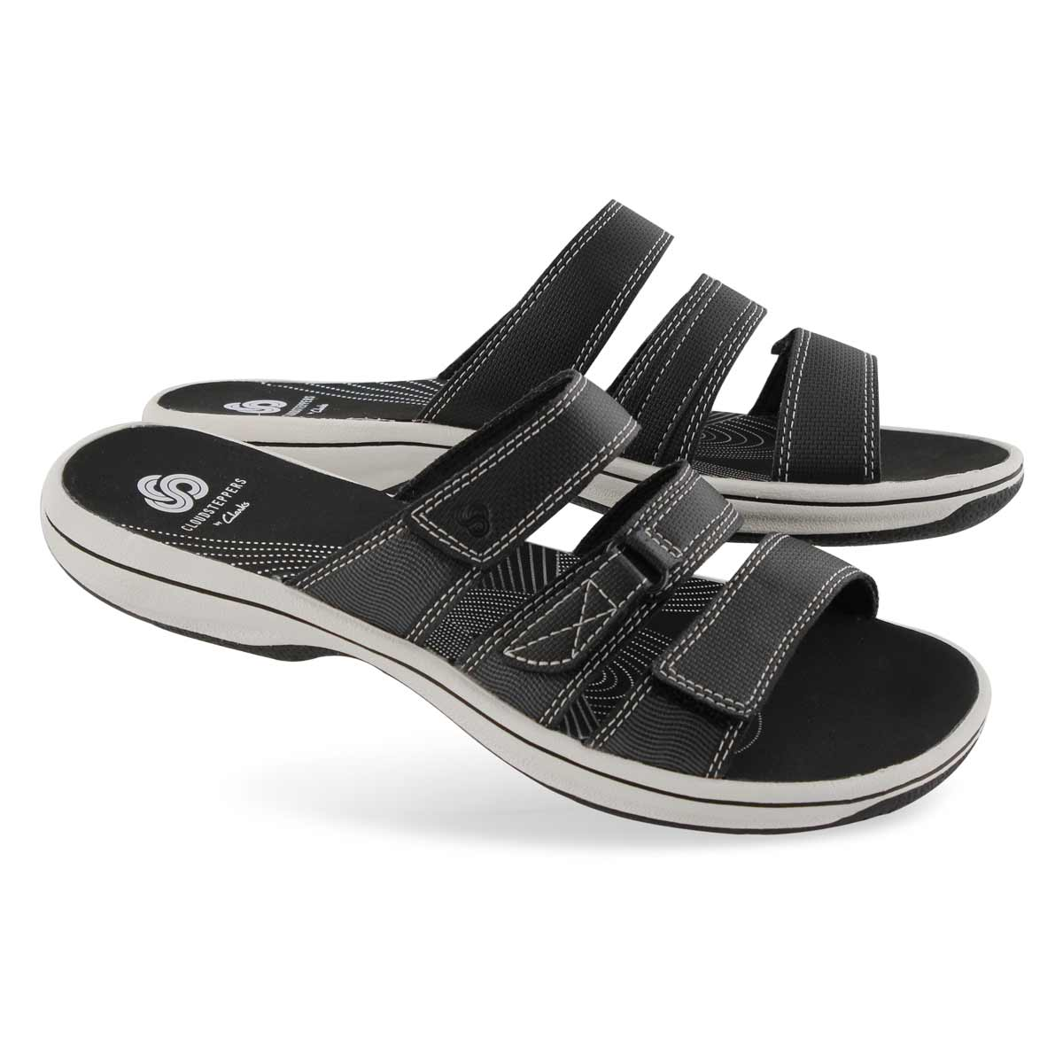 Lds Brinkley Coast black slide sandal