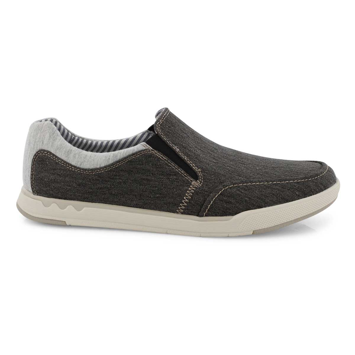 Mns Step Isle Slip blk casual shoe