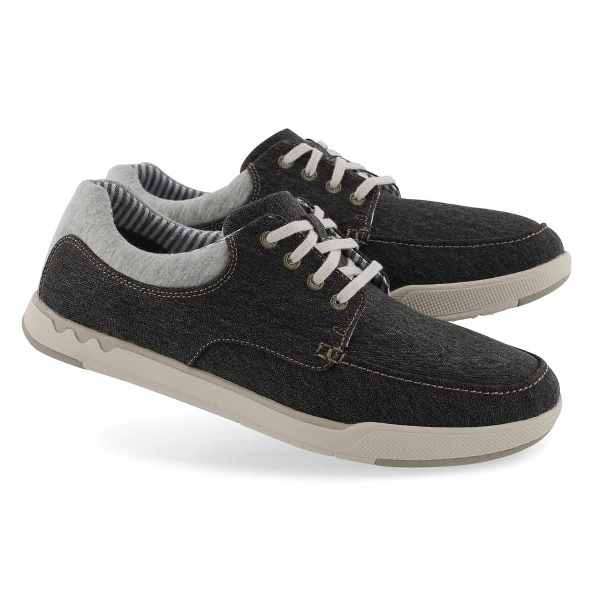 Mns Step Isle Lace blk casual shoe