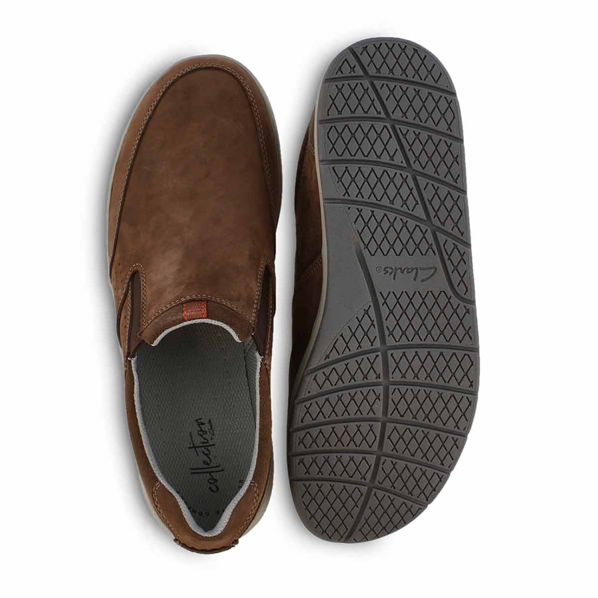 Mns Shoda Free brown casual slip on