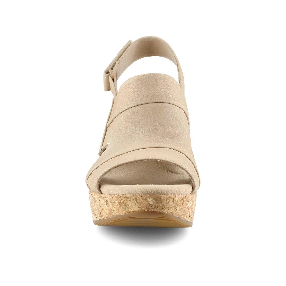 Lds Annadel Ivory sand wedge sandal