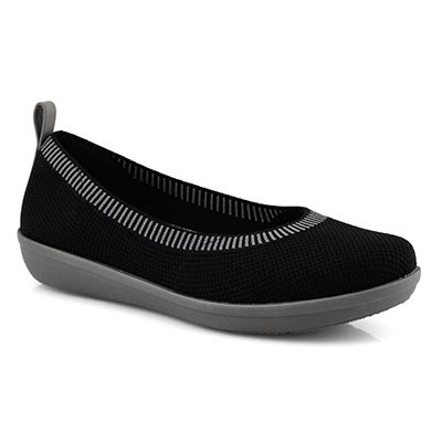 Lds Ayla Paige black/grey slip on