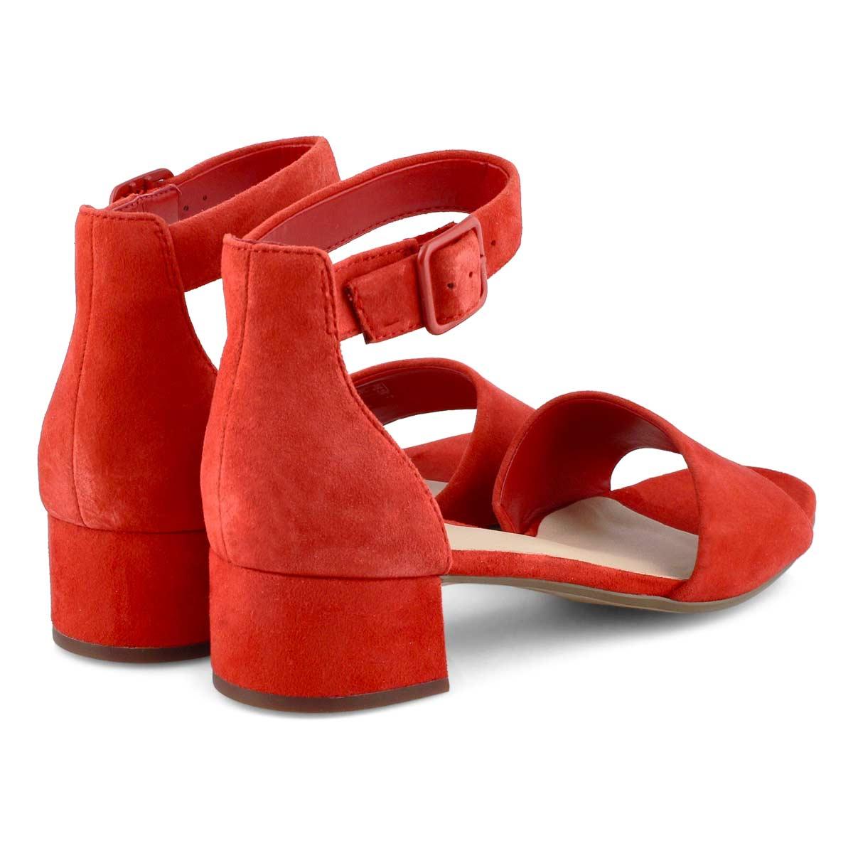 Lds Elisa Dedra red dress sandal